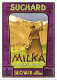 Postcard - SUCHARD - MILKA - Poster about 1905