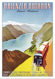 Postcard - BRIENZER ROTHORN - Poster by Fritz Reck about 1950