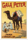 Postcard - GALA PETER - Poster by about 1905