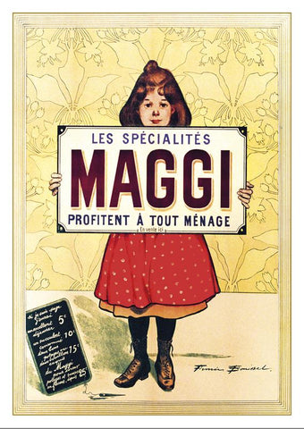 MAGGI - Poster by Firmin Bouisset - 1895