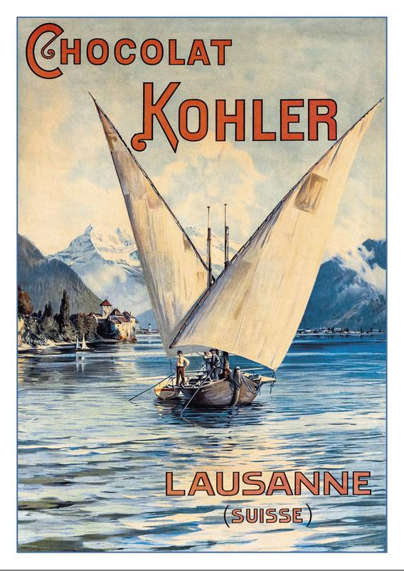 A-10723 - CHOCOLAT KOHLER - Poster about 1900