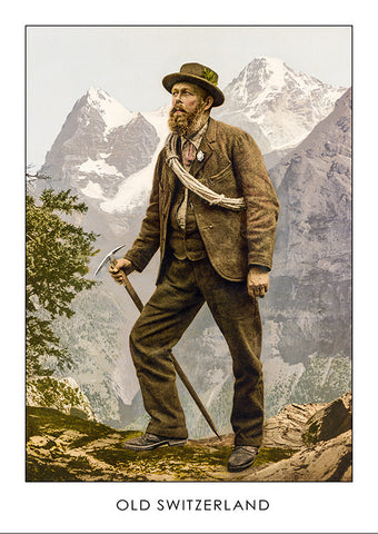13049 - Mountain guide - Photochrom - 1901