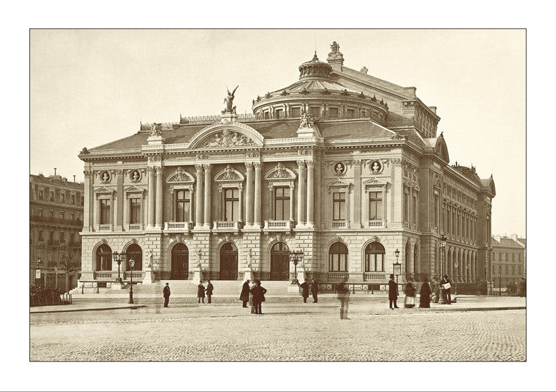 263004 - Geneva - The Theater in 1879, Switzerland