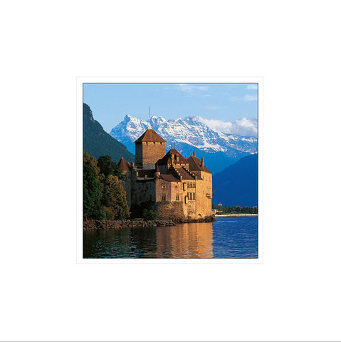 The castle of Chillon, Switzerland