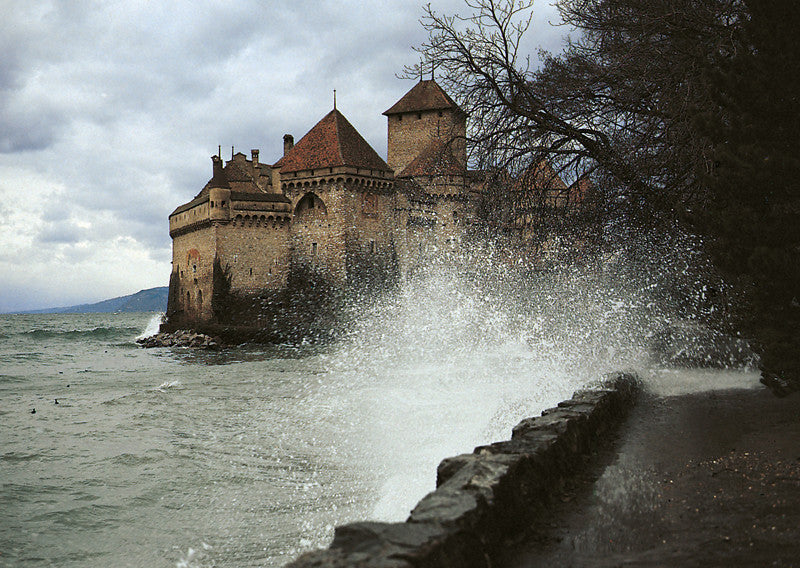 0-6014 - The castle of Chillon, Switzerland