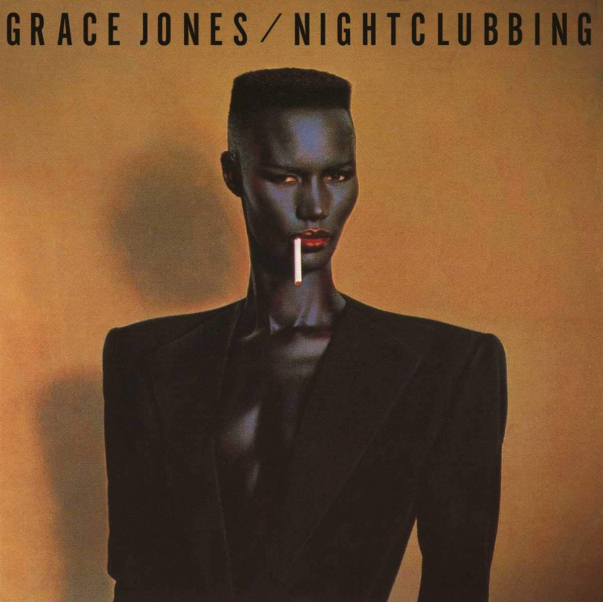 Grace Jones Night Clubbing Album Cover - Adsum