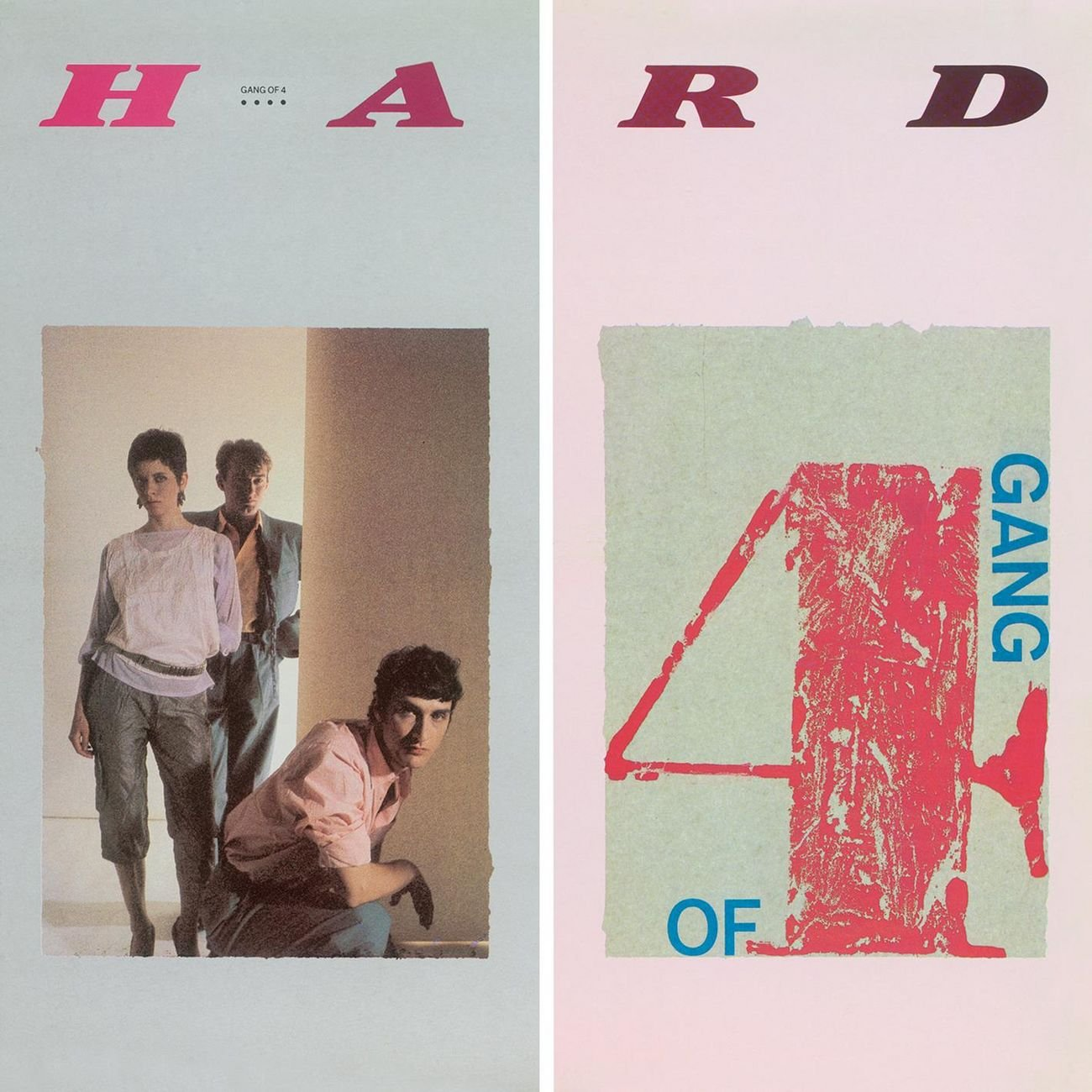 Gang of 4 Hard Album Cover - Adsum