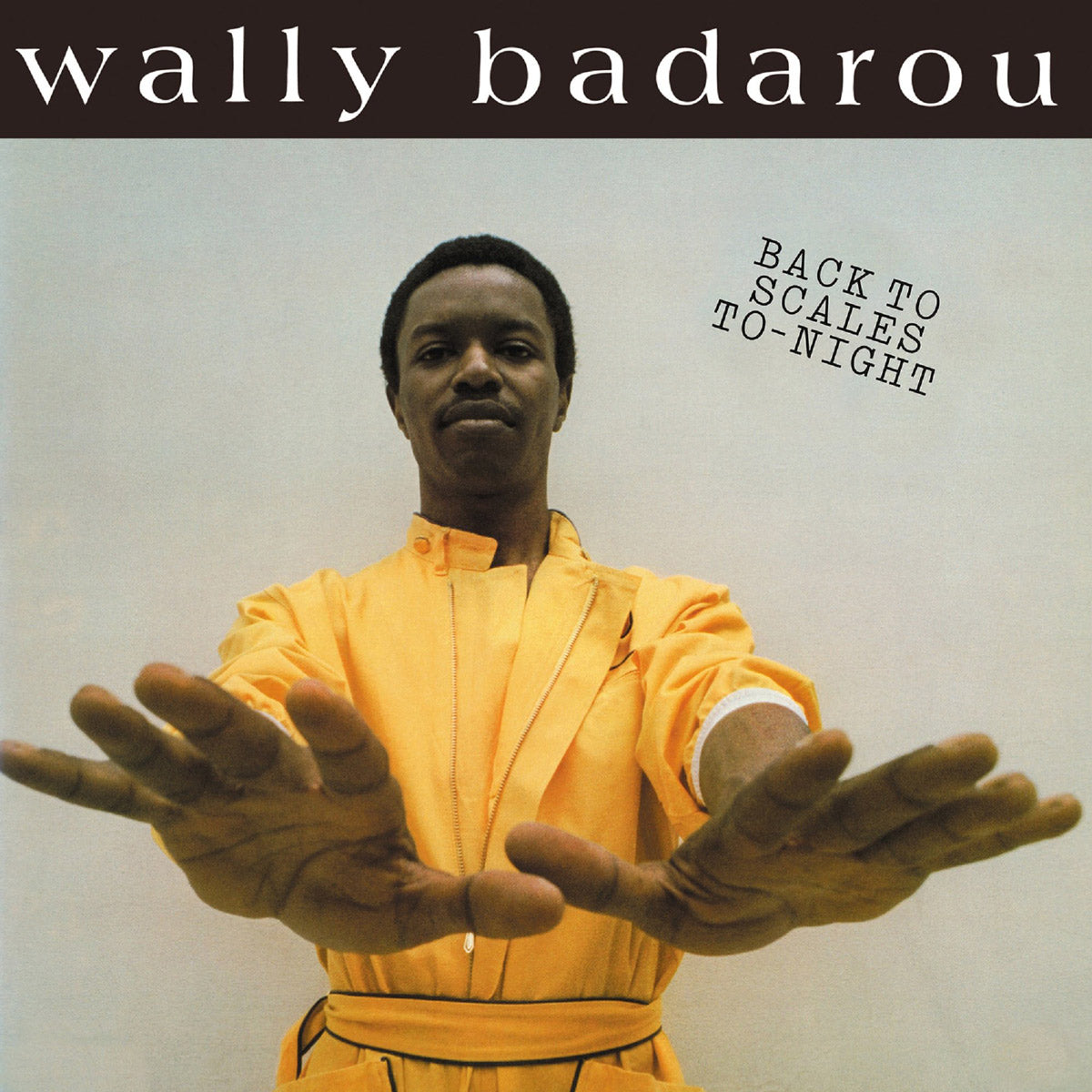 Wally Badarou Back to Scales To-Night Album Cover - Adsum