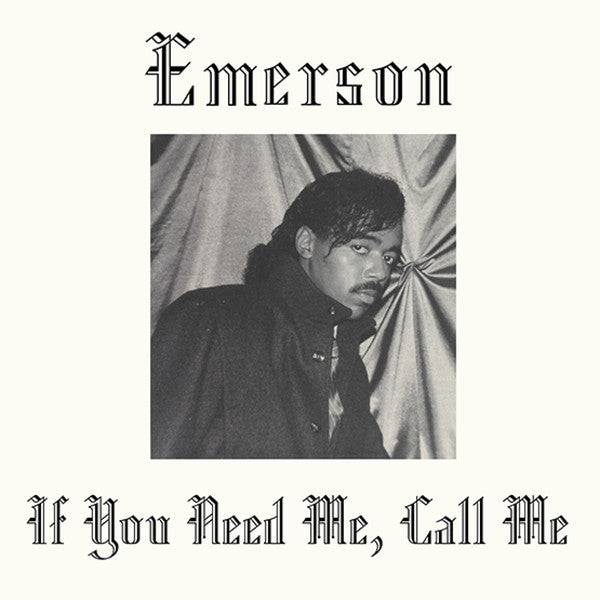 Emerson If You Need Me, Call Me Album Cover - Adsum