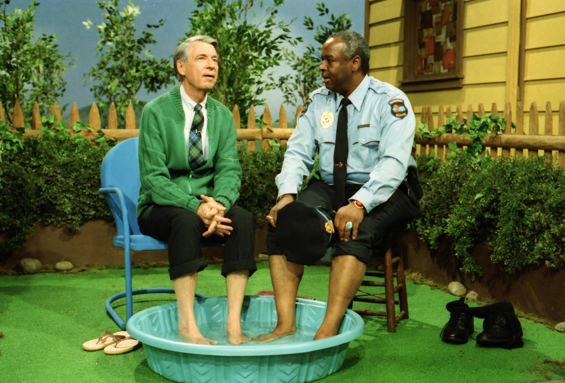 Mr Rogers and Officer Clemmons - Adsum
