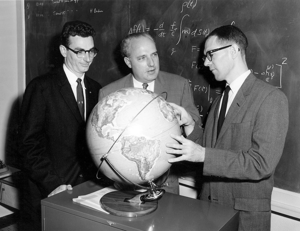 William Guier, Frank T. McClure and George Weiffenback