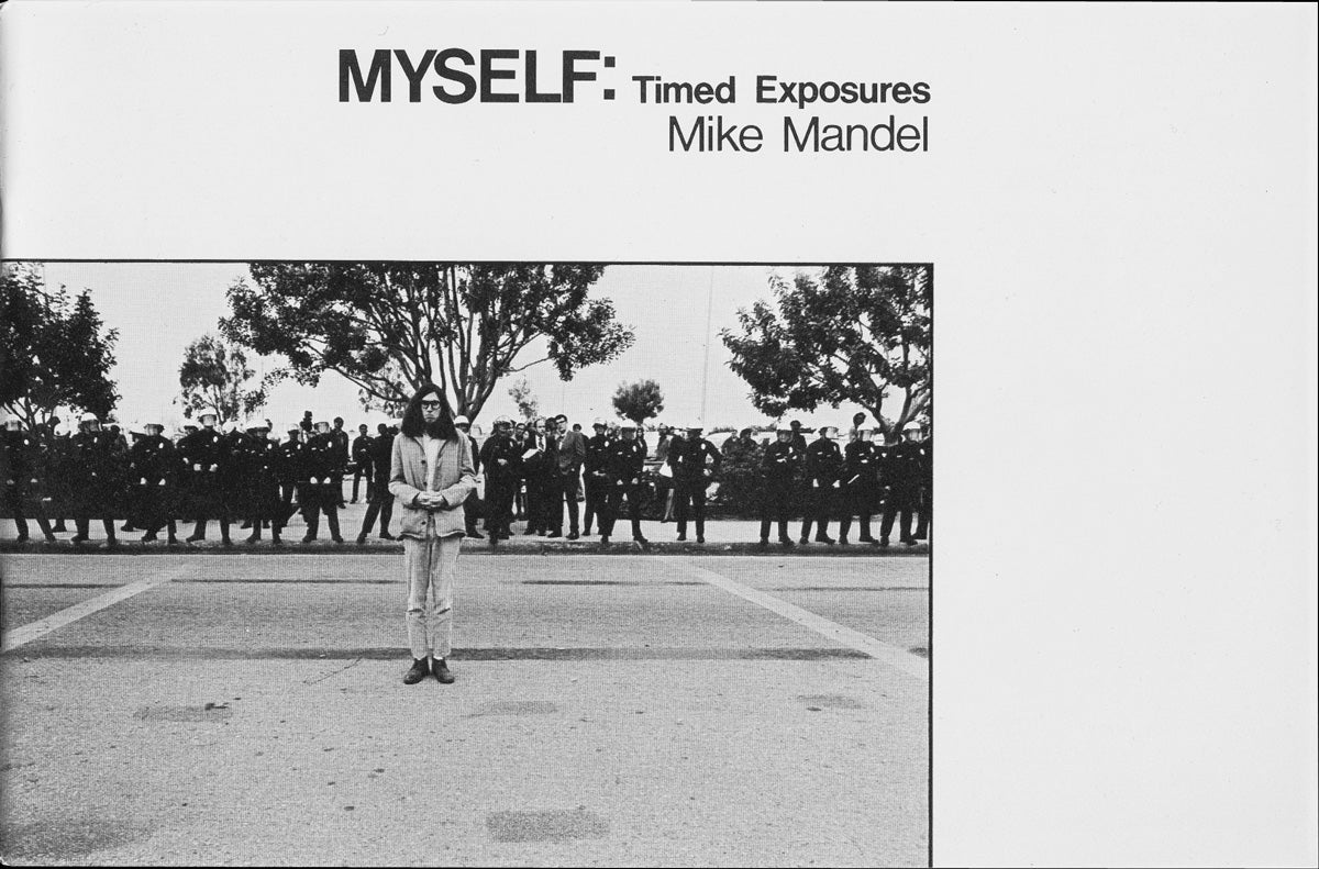 Mike Mandel Myself Timed Exposures Book Cover - Adsum