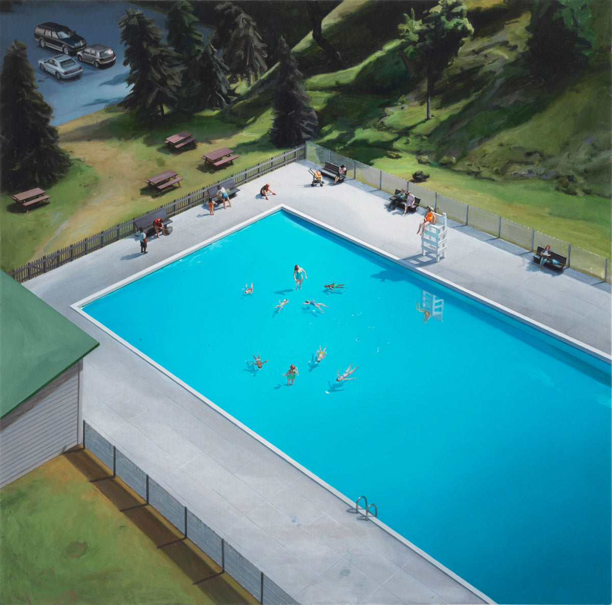 Amy Bennett Swimming Pool - Adsum