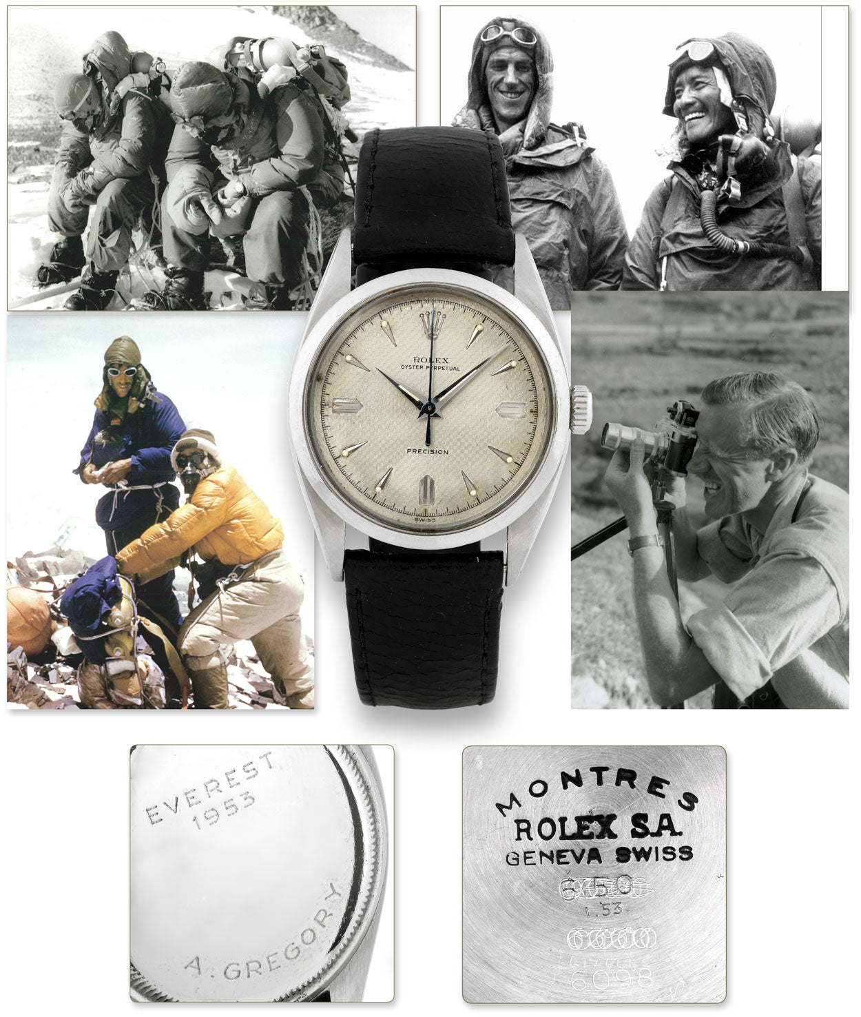 Climbers and their favorites, the Oyster Perpetual.