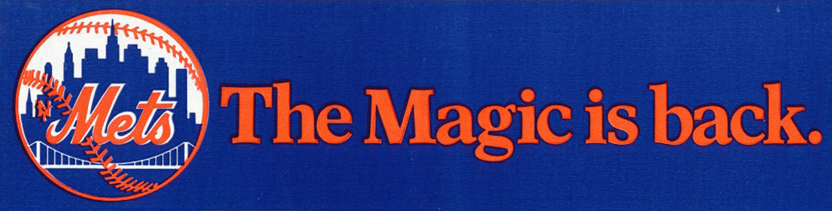 Mets - The Magic is Back stickers