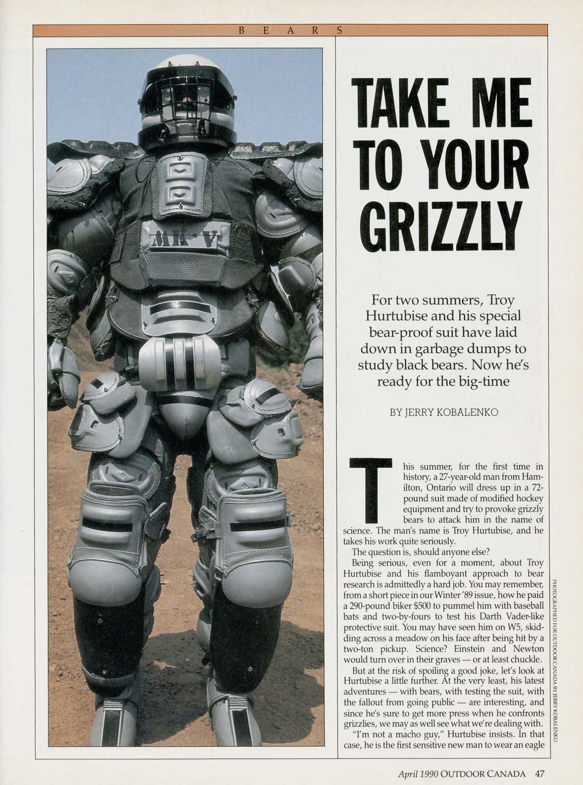 Project Grizzly Outdoor Canada Article - Adsum