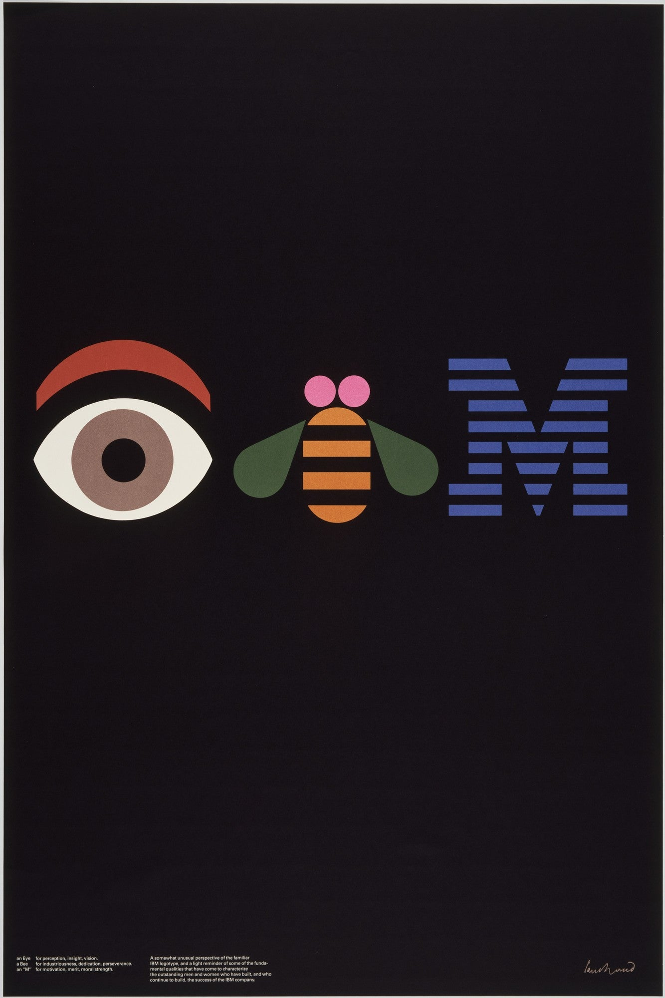 Paul Rand IBM Eye