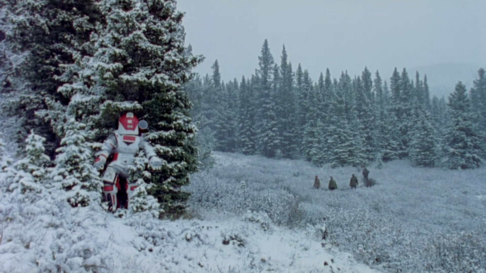 Project Grizzly suit in snow - Adsum