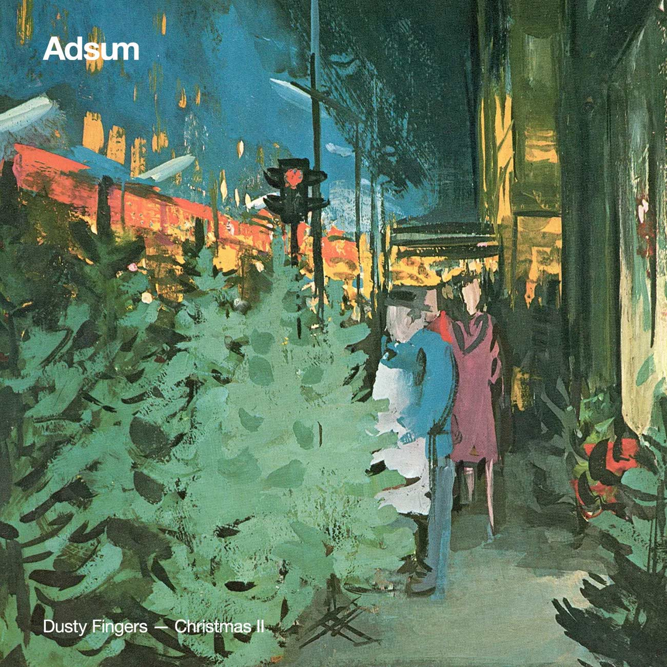 Adsum Dusty Fingers Christmas Album Cover