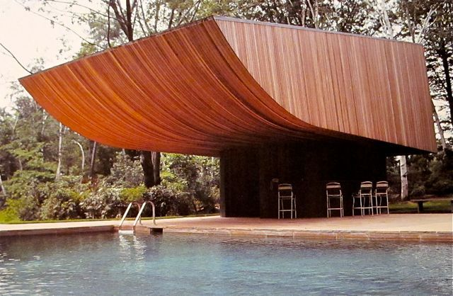 The pool house at Turetsky House - Norman Jaffe | Adsum