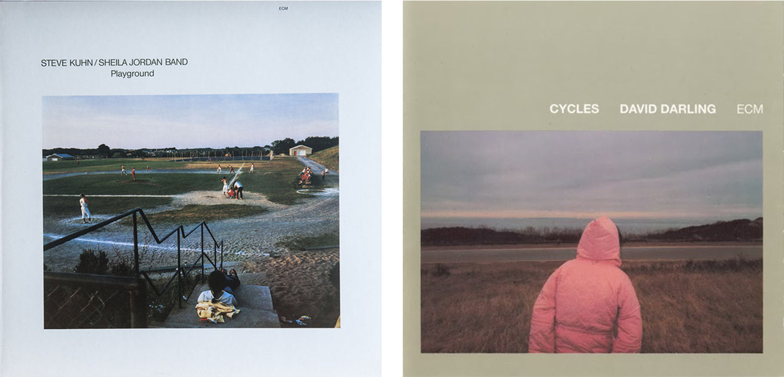 2 of our favourite ECM sleeves - Adsum