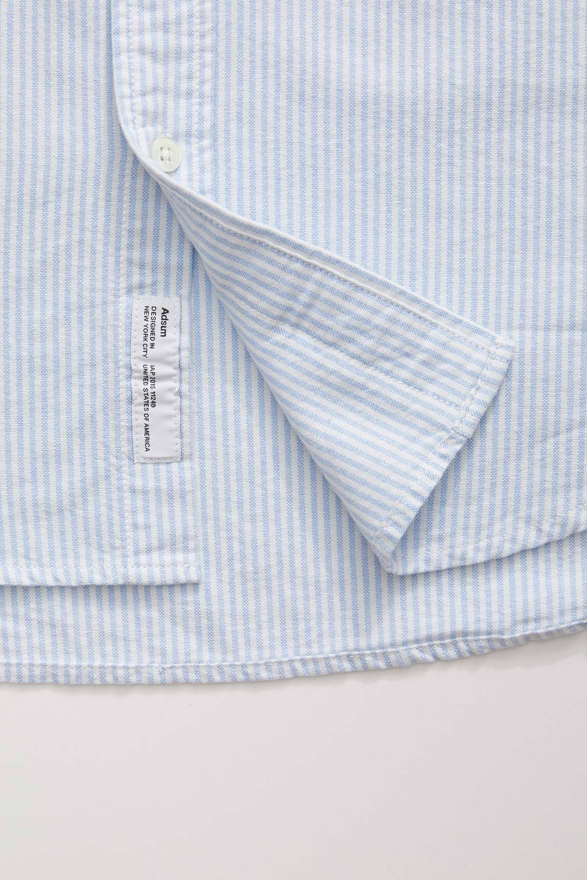 Oxford Buttondown Shirt - Blue Stripe