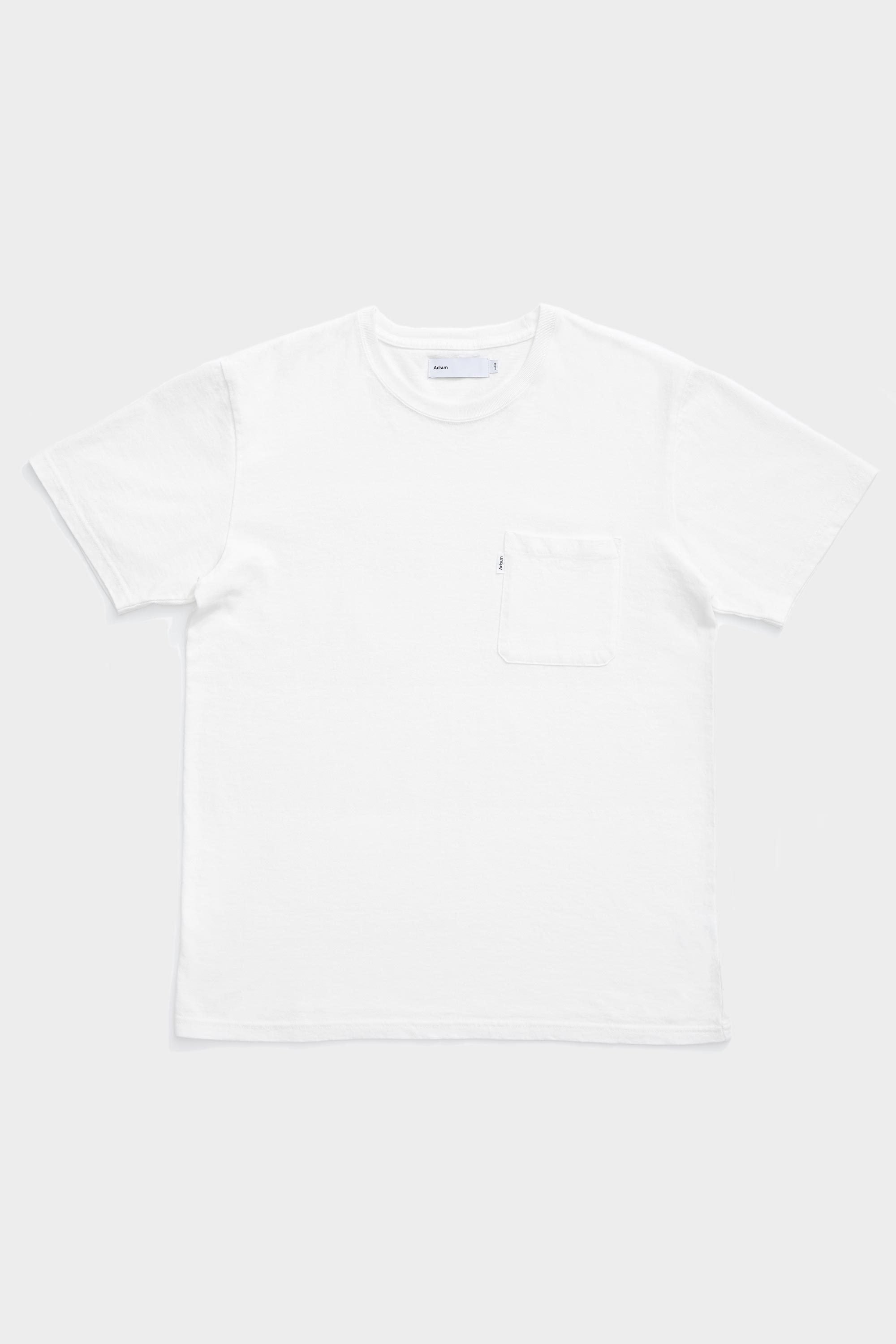 Bank Pant - Pocket Tee - White