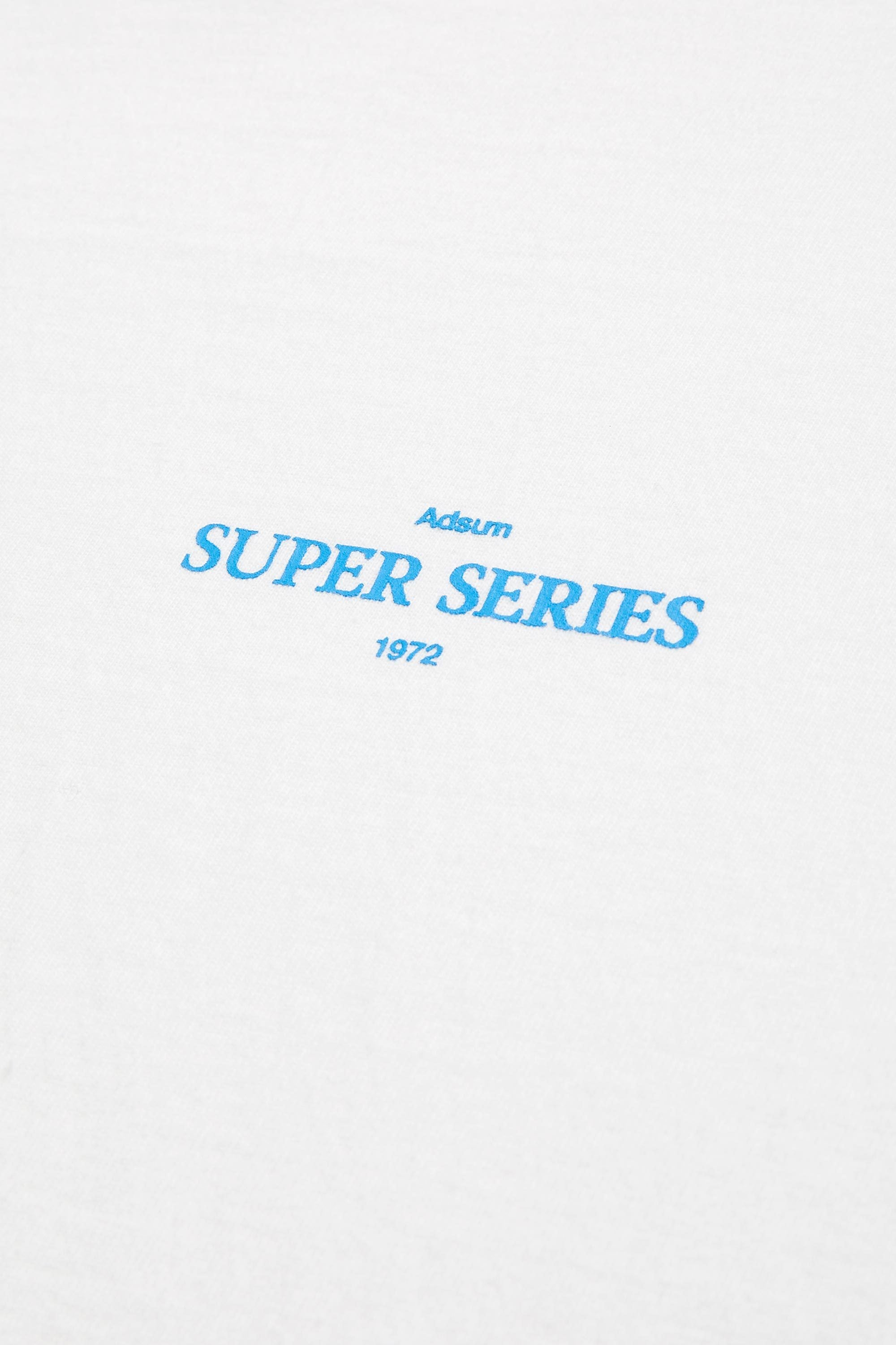 Super Series Tee - White