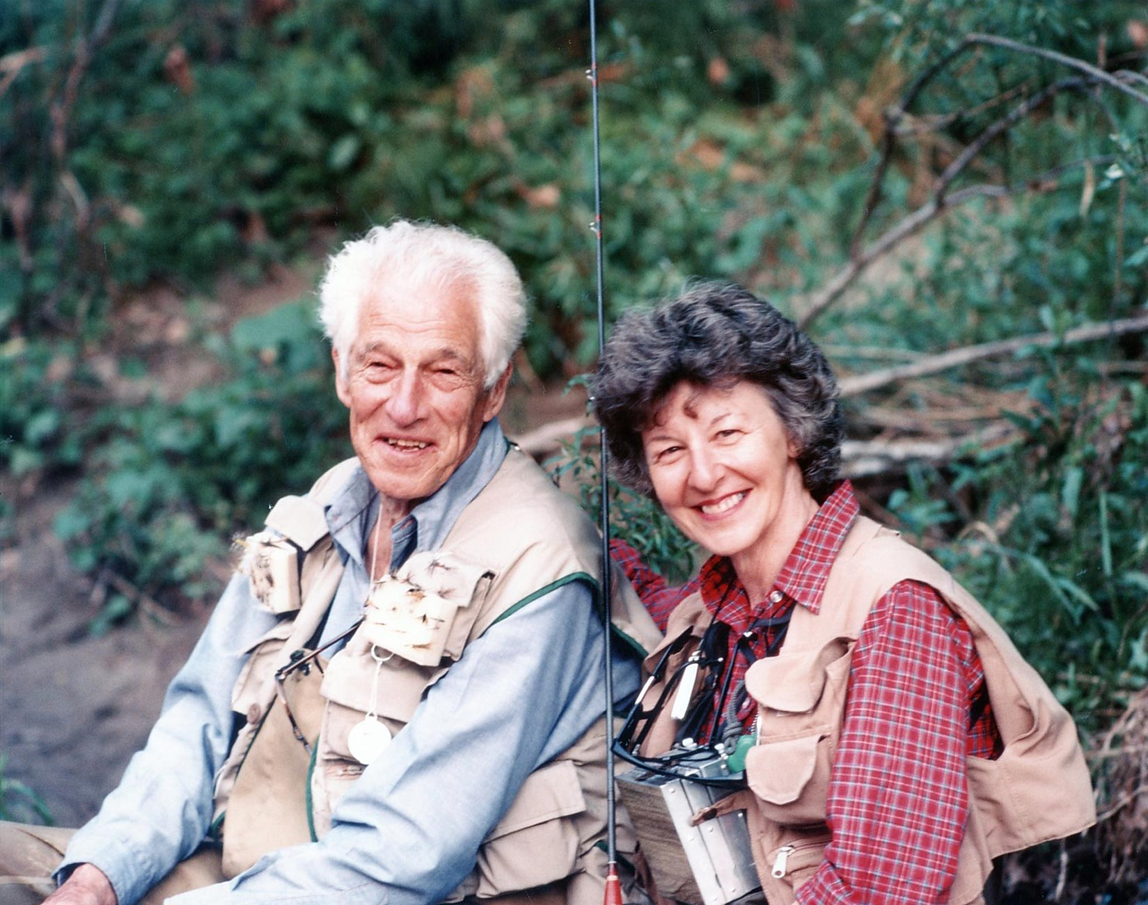 Joan and Lee Wulff Together - Adsum