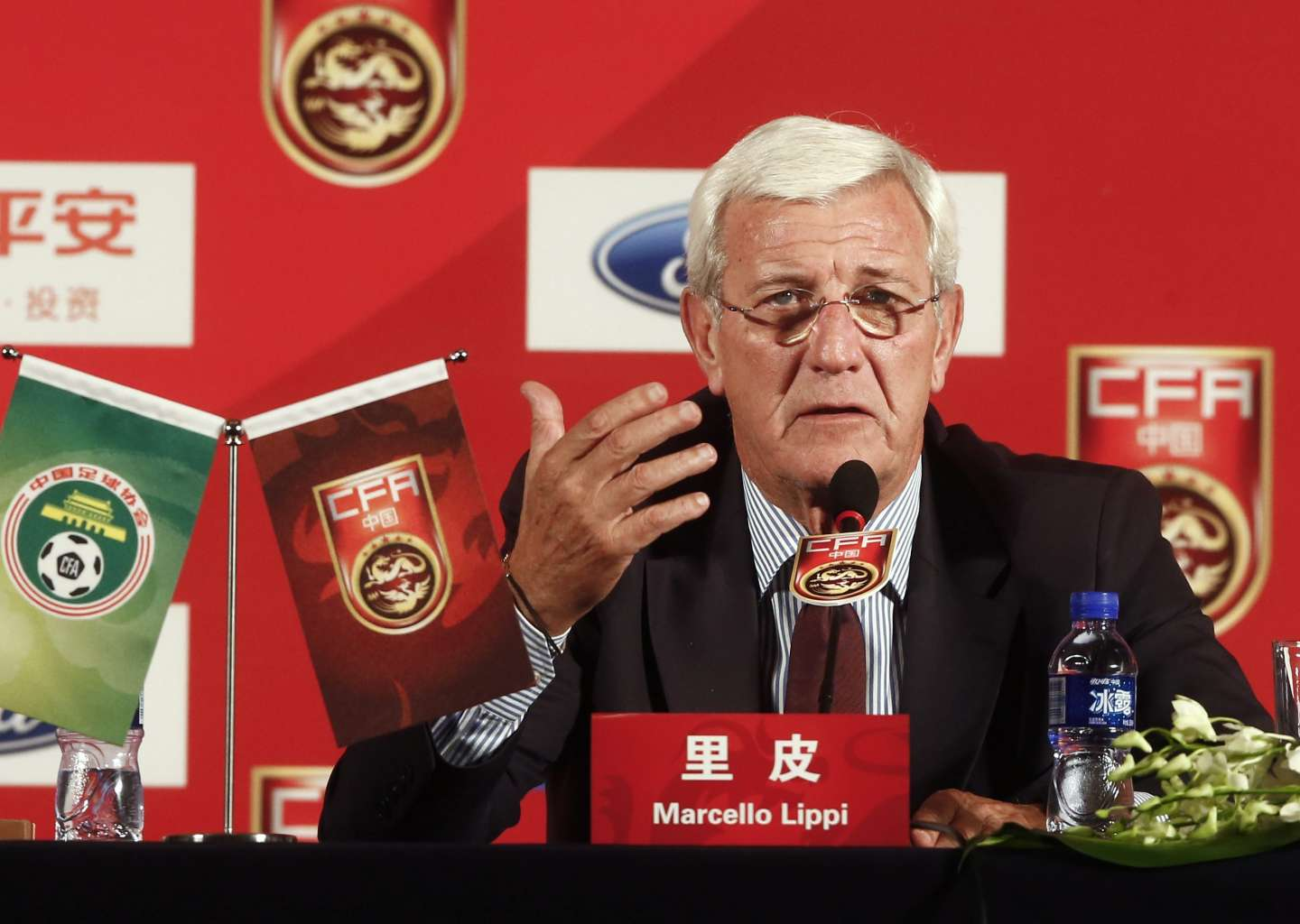 Marcello Lippi Press Conference