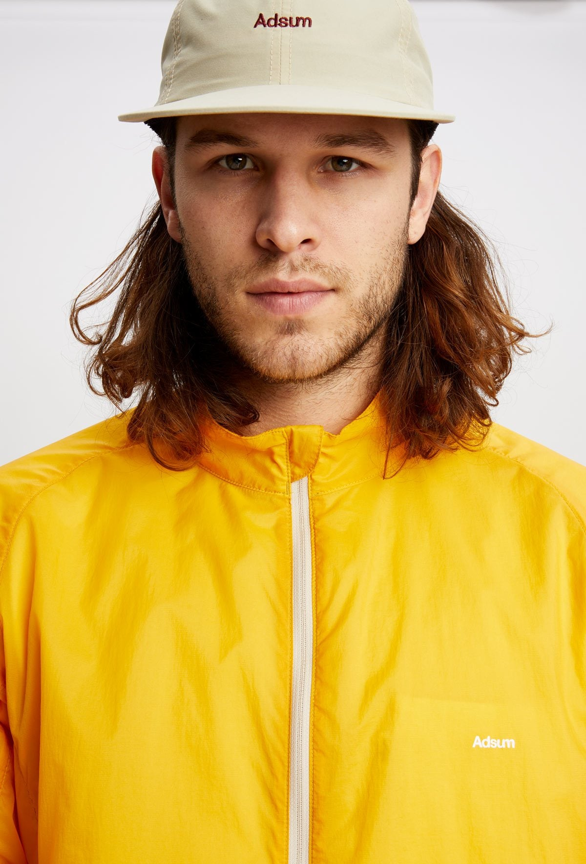 ss18 wind jacket yellow - Adsum