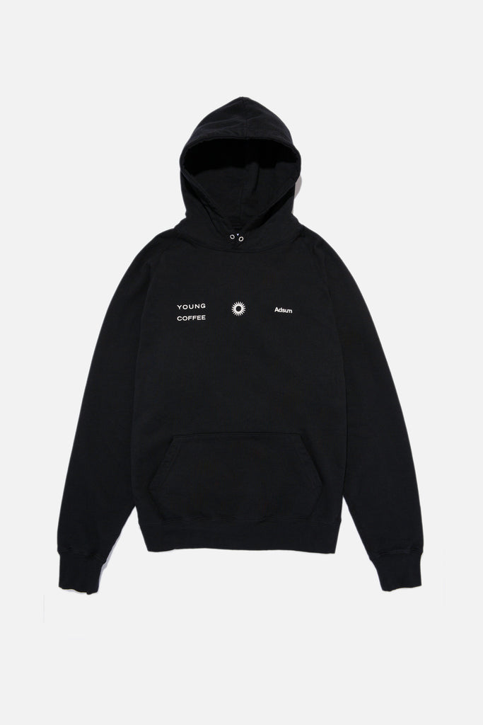 Adsum Young Coffee Rainbow Hoodie - Black