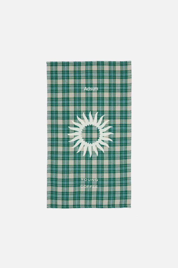 Tea Towel - Recycled Cream Plaid