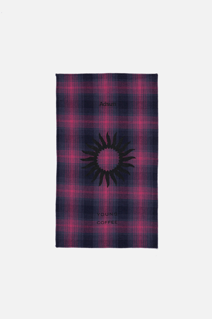 Tea Towel - Recycled Dusty Purple Plaid