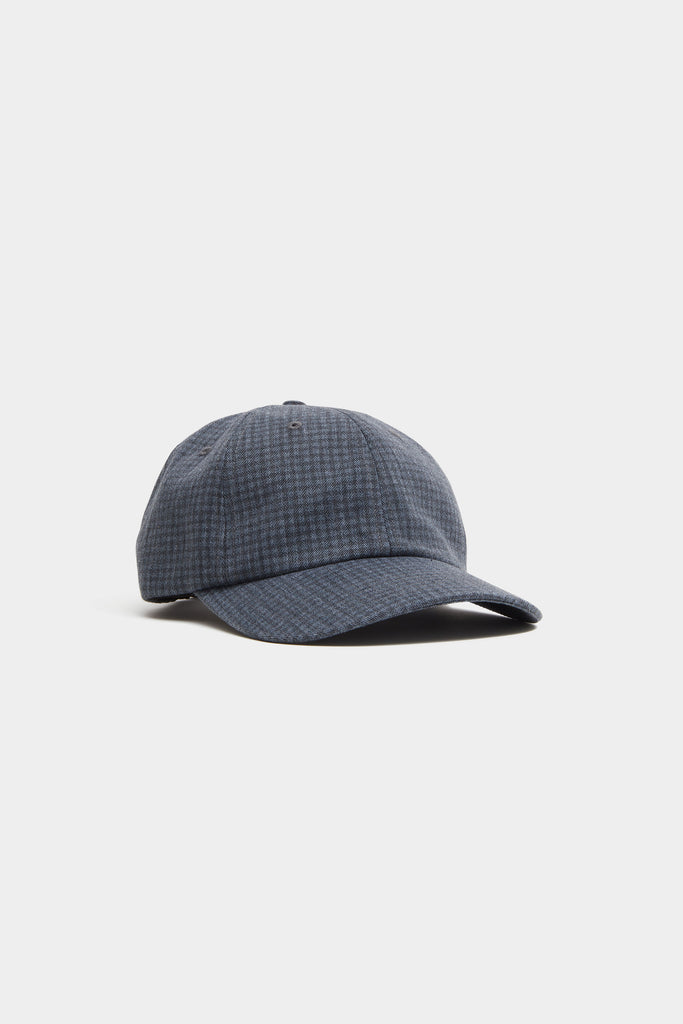 Hat - Navy Houndstooth