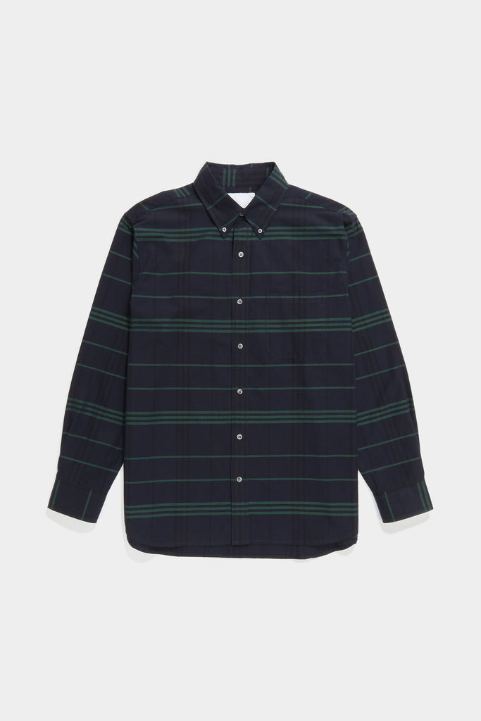 Premium BD Shirt - Bright Green Plaid