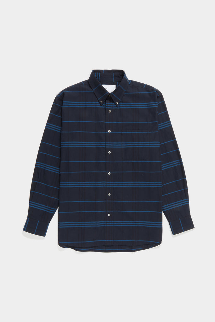 Premium BD Shirt - Bright Blue Plaid