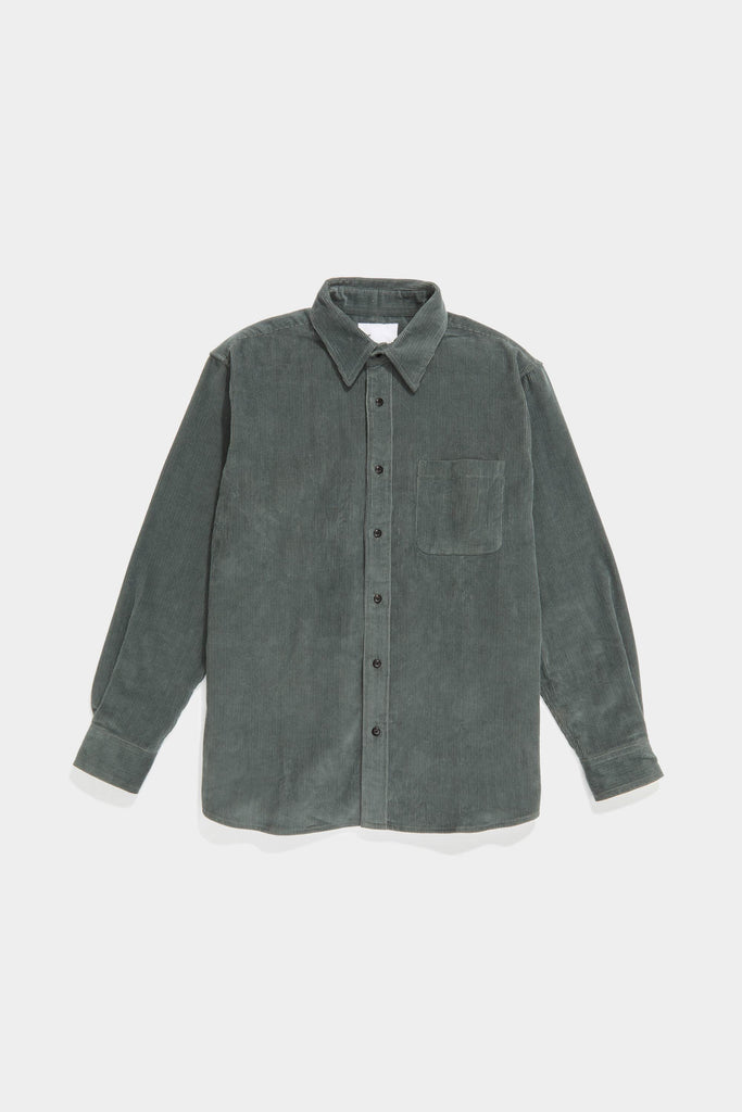 Premium BD Shirt - Grey-Green Cord