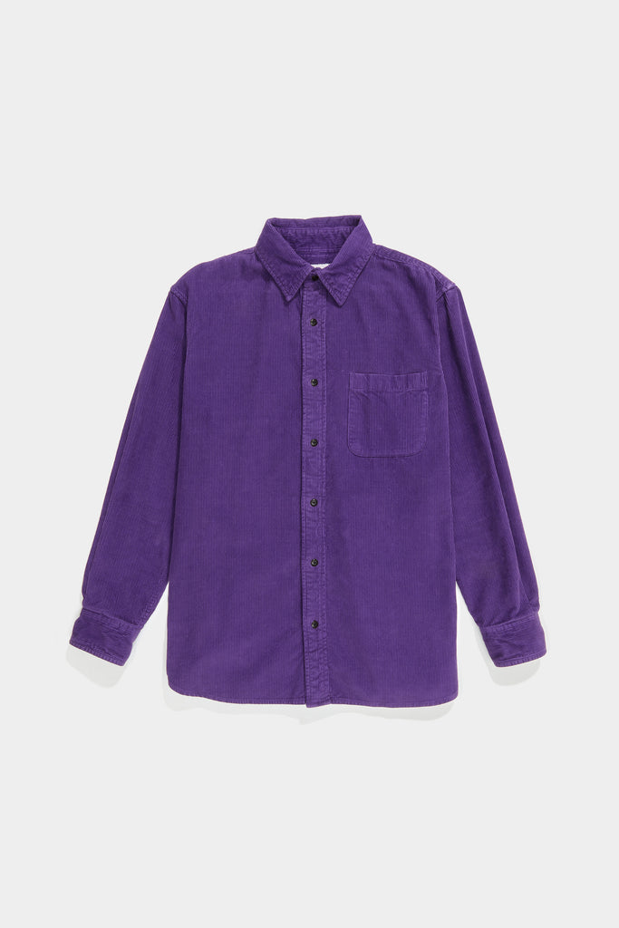 Premium BD Shirt - Purple Cord