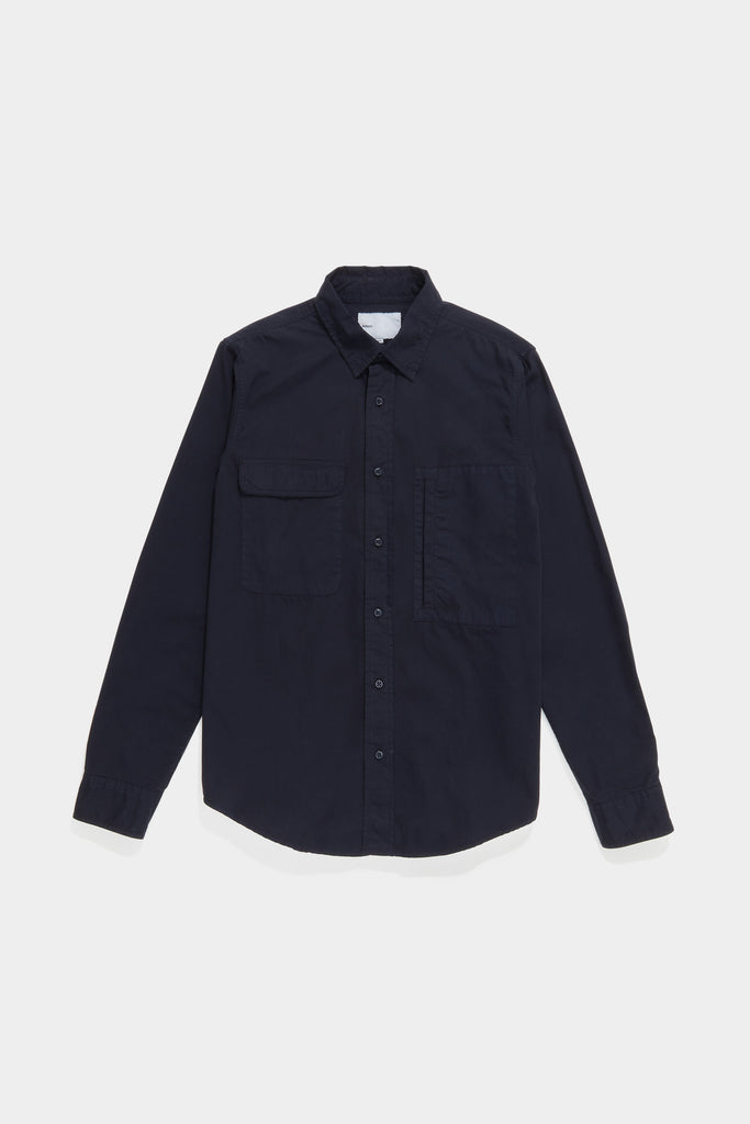 Twill Workshirt - Navy