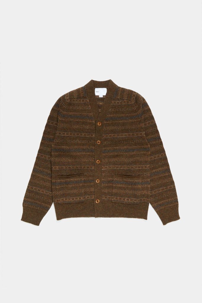 Nordic Cardigan - Brown
