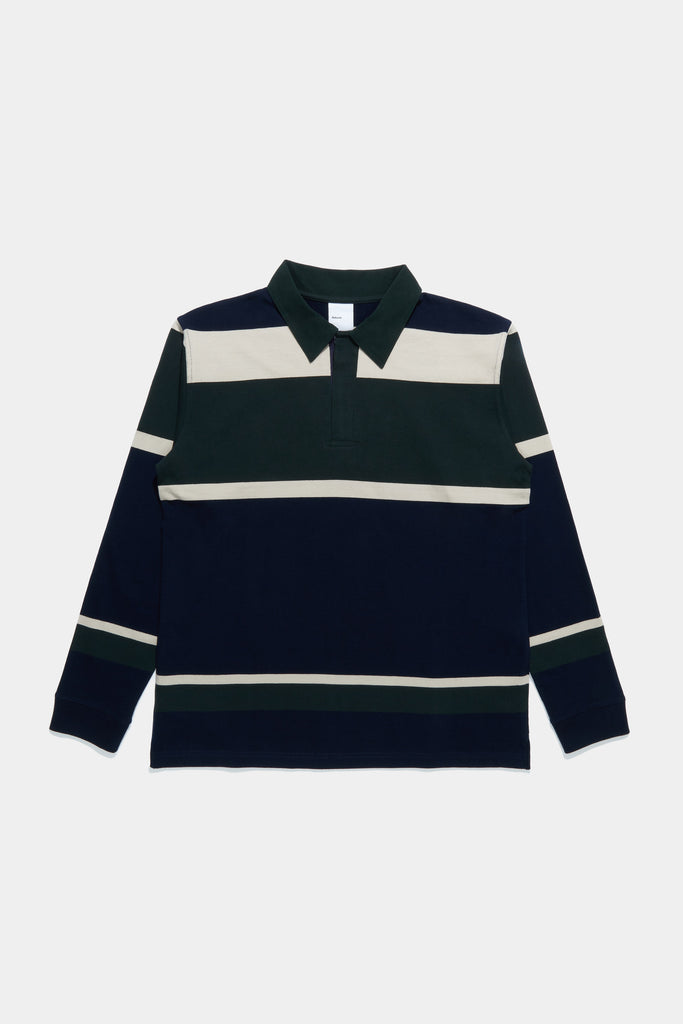 Rugby Shirt - Navy / Green