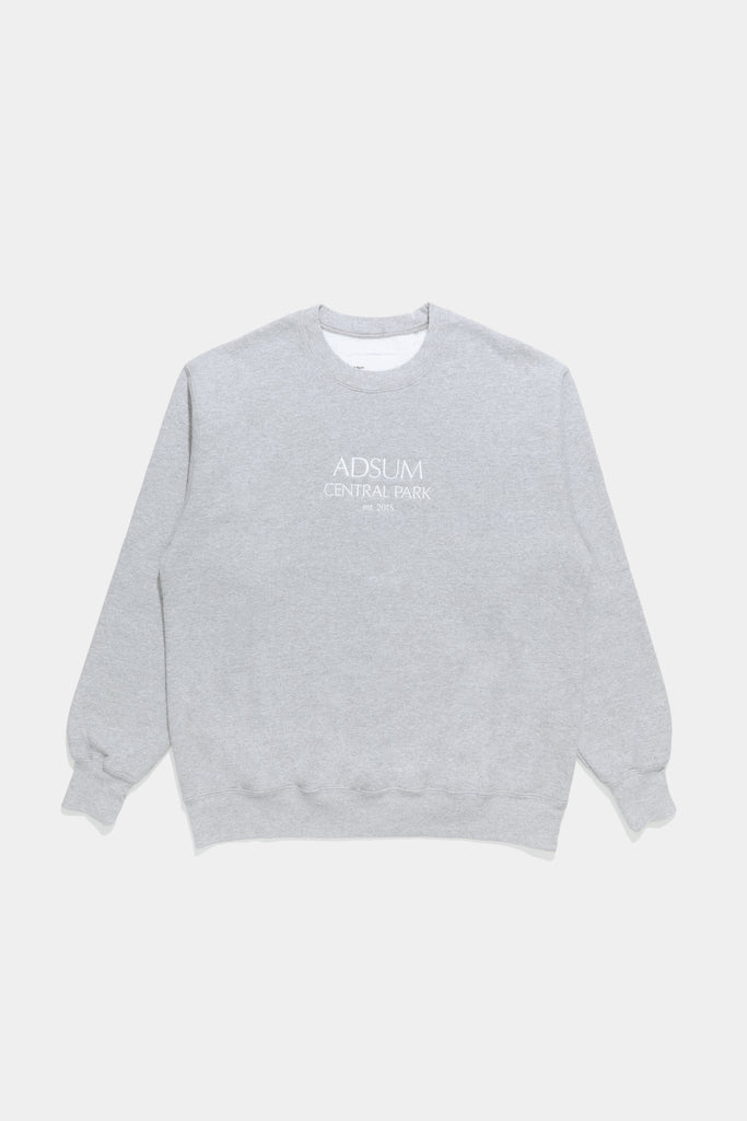 Optima Crewneck - Heather Grey