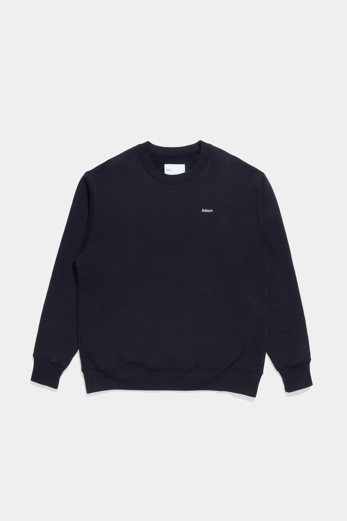 Core Logo Crewneck - Dark Navy