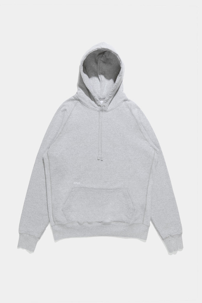 Core Logo Hoodie - Bleached Heather Grey