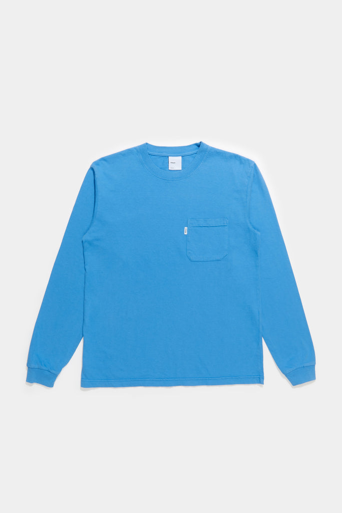 LS Pocket Tee - Royal Blue