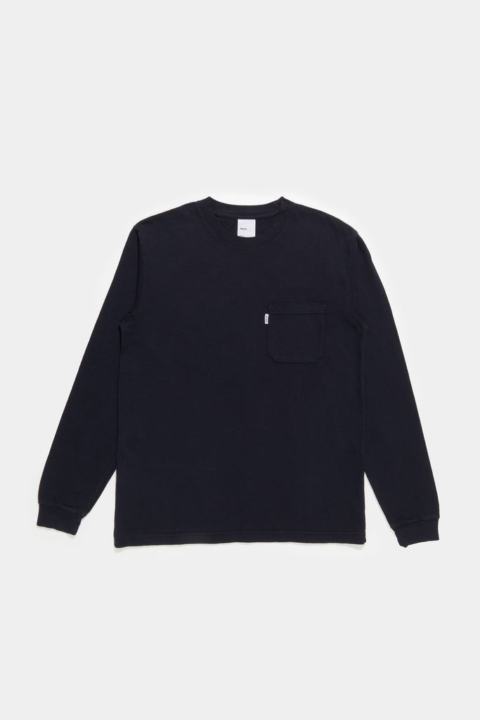 LS Pocket Tee - Navy