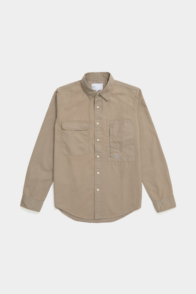 Twill Workshirt - Stone