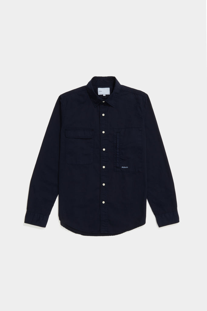 Twill Workshirt - Dark Navy