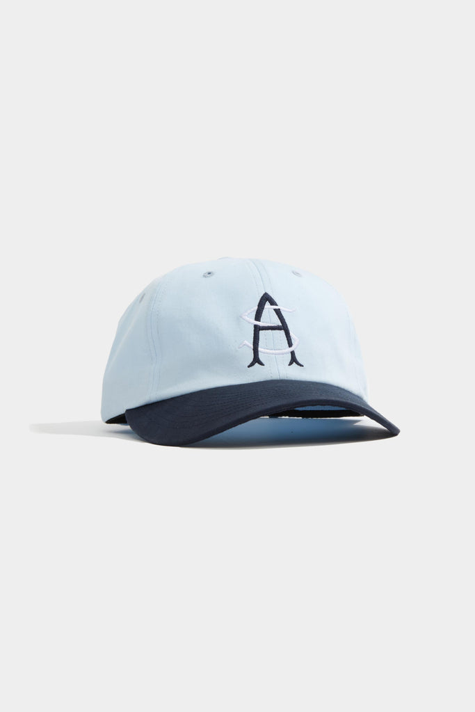 Monogram Hat - Sky Blue